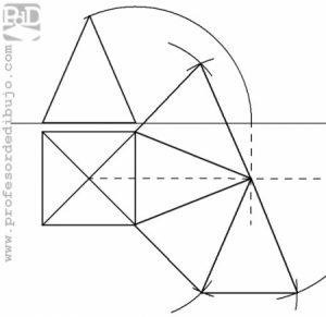 PAU #005 Diédrico: Desarrollo pirámide (Galicia/2010)