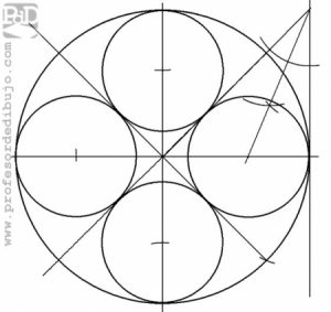 PAU #017 Circunferencias tangentes interiores a otra (Galicia/2011)