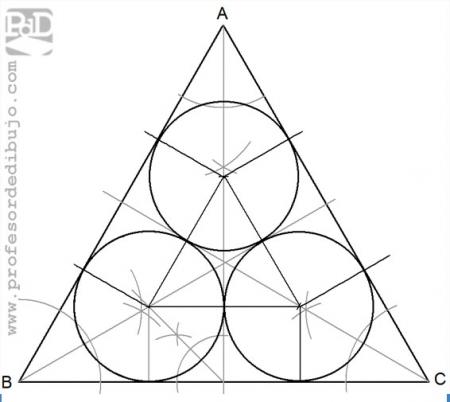 PAU #011 Circunferencias interiores a un triángulo (Cataluña/2000)