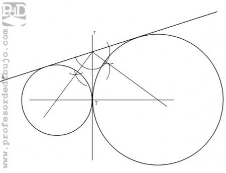PAU #007 Circunferencias tangentes a 2 rectas (Galicia/2005)