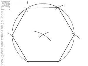 Como dibujar un hexágono a partir del lado.
