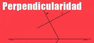 Perpendicularidad