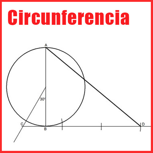 Circunferencias en dibujo tecnico