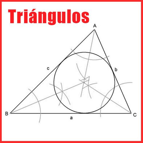 Triángulos en Dibujo Técnico
