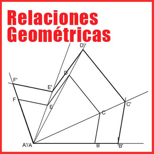 Relaciones Geométricas en Dibujo Técnico