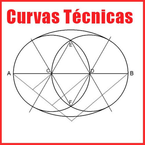Curvas Técnicas en Dibujo técnico