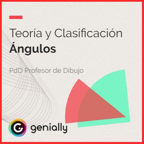 Material didáctico ángulos tipos y clasificacón