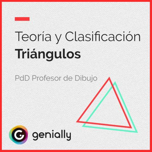 Unidad didáctica sobre clasificación y tipos de triángulos.