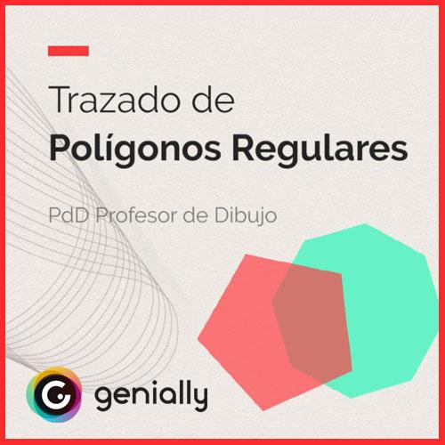Recurso educativo para trazado de polígonos regulares