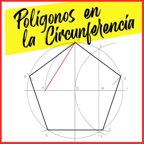 Poligonos inscritos en la Circunferencia